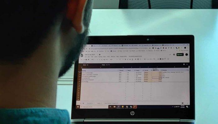 Team Task Tracker Google Sheet Template